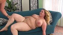 Big Boobed BBW Uses Her Body to Please a Thick ...
