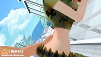 One piece nami doggystyle anal 3D Thumbnail