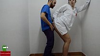 dick on aid first doing Nurse