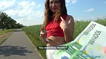 Public Agent Sexy Spanish beauty fucked in a fi...