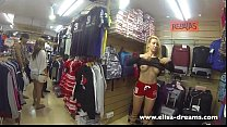 Flashing my tits and body in public Thumbnail