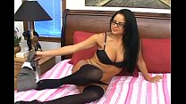 Latina stunner with big juicy tits Natalia Mendez stuffs throat with a pecker  585409