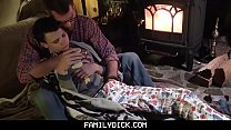 FamilyDick - Daddy warms up his wet bottom boy ... Thumbnail