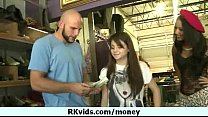 Girl getting payed for nudity 14