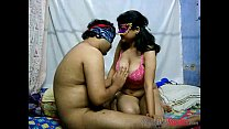 Cock riding porn scene with Indian wife Savita ... Thumbnail