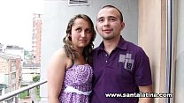 Real colombian amateur couple)