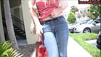 organ desperate and wetting her jeans