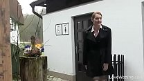 Locked Washroom, Bursting To Pee, Office Lady I...