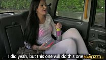 Wild creampie outdoordoors with Sasha after sex with the driver