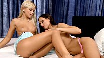 Silky Sex by Sapphic Erotica - lesbian fun with...