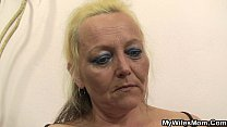 Old mother in law taboo photosession - download porn videos