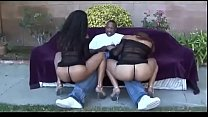 Fat fucking ass of black chunky whores # 15