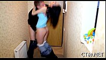 Wonderful babe acquires fucked hard