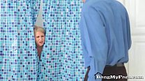 Pervy Step-son Fucks Hot Mommy Alice Chambers In The Shower