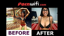 Mia Khalifa Before Boob Job - PORNWIFI.COM