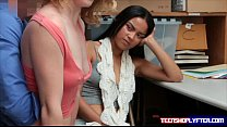 Bonnie Grey and Maya Bijou diciplined to avoid crime - download porn videos