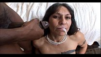 video pussy mom hot in facial big a gets and cock black bangs milf Mature
