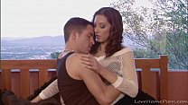 A big donger for her tight love tunnel