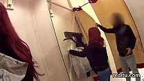 Attractive czech girl gets teased in the mall a...