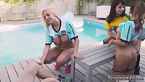 Hot blonde mom gives handjob xxx America's Cup