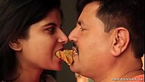 Young lonely girl kissed by neighbour uncle Thumbnail