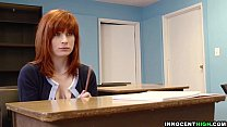 innocenthigh   redhead coed with hairy pussy sadie kennedy deepthroats bigcock