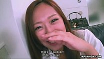 Cute Asian smelling the dick http://xxxtube...