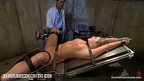 Humble blonde gets anal and facial treatment