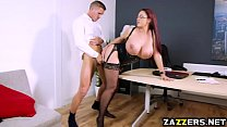 Boss Emma Butt blowjob Marc Roses massive cock Thumbnail