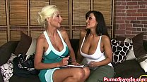 Puma Swede Get Lisa Ann's Pussy for her Birthday! Thumbnail