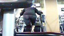 Candid Phat Ass Chick In Sweat Drenched Tights