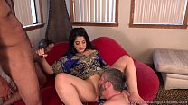 Cum Eating Cuckolds - Cuckold watches Nadia Ali...