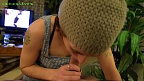 amber buttslut sucks off her brother taboo fami...