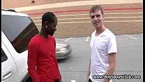 Interracial Gay Bareback Porn Video 14