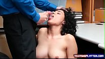 Latina Maya Morena caught for stealing and fuck... Thumbnail