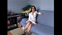 accidental creampie for a casting french amateur