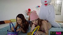 Easter Egg Hunt Gets Bunny Fucked By Hot BFF An... Thumbnail