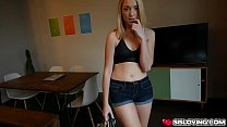 Step bro fucks Zoe Parker doggystyle with his h...