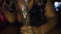 Mz Tongue Action Gets Sloppy & Nasty On Dick