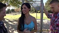 hot brunette wife Jewels Jade is an ex porno star