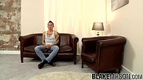 Hot Asian punk Yoshi Kawasaki rubs his meaty ro...