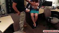 Booby milf screwed by nasty pawn keeper Thumbnail