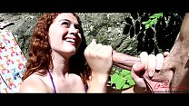 Patrick Delphia&Alice Green public fingering and a handjob by a creek in Philly