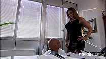 Cathy Heaven Anal in office! Enormous Boobs! - download porn videos