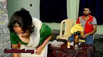 Hot House maid trying to seduce the house owner...