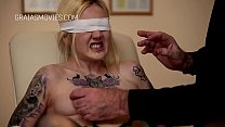 Blindfolded girl nipple and pussy tortured Thumbnail