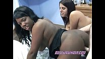 slut ebony an with cock a swapping lavender Busty