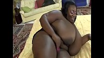 Incredible fat woman fucked doggystyle by black guy