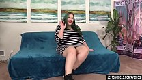 Horny Plumper Becki Butterfly Shows Off Her Fat... Thumbnail