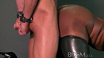 BDSM XXX Caged subs are humiliated before being... thumb